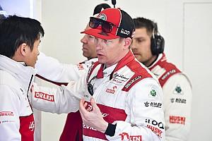 Räikkönen, és a tökéletes napszemüveg az Alfa Romeónál