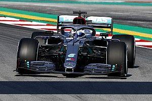 Bottas leads Perez as 2020 F1 testing begins