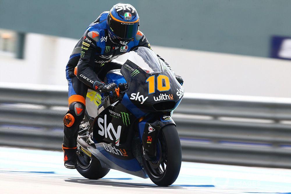Moto2, Jerez, Libere 1: si riparte da Marini, a terra Manzi