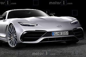 La prochaine génération de Mercedes-AMG GT imaginée