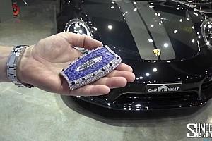 Videó: A világ legdrágább, gyémántberakásos Bugatti-slusszkulcsa