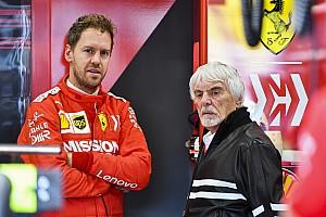 """Ecclestone: """"Vettel'in performansı Ferrari yüzünden düştü"""""""