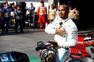 """Hamilton: """"Niet genoeg vermogen om voor pole te strijden"""""""