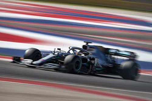 United States GP: Hamilton tops FP2 from Leclerc