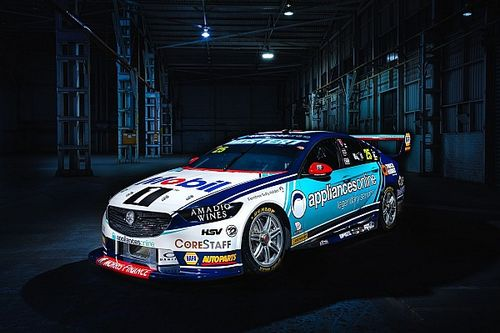 Mostert's first Walkinshaw Holden Supercar unveiled
