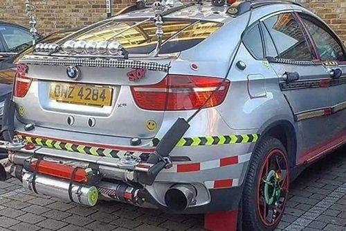 Valaki úgy döntött, BMW X6-osának így kell kinéznie