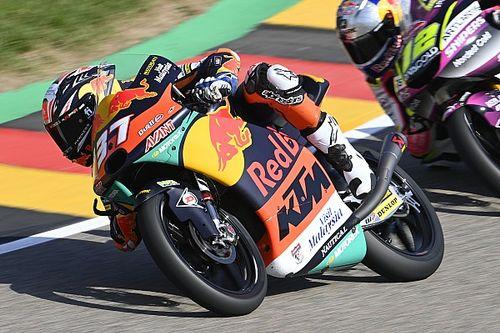 Acosta pakt vierde overwinning in Moto3 GP van Duitsland