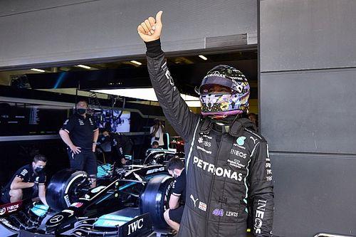 """Hamilton: """"Sono stato al simulatore anche stamattina"""""""
