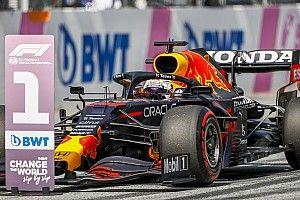 Startopstelling F1 Grand Prix van Oostenrijk