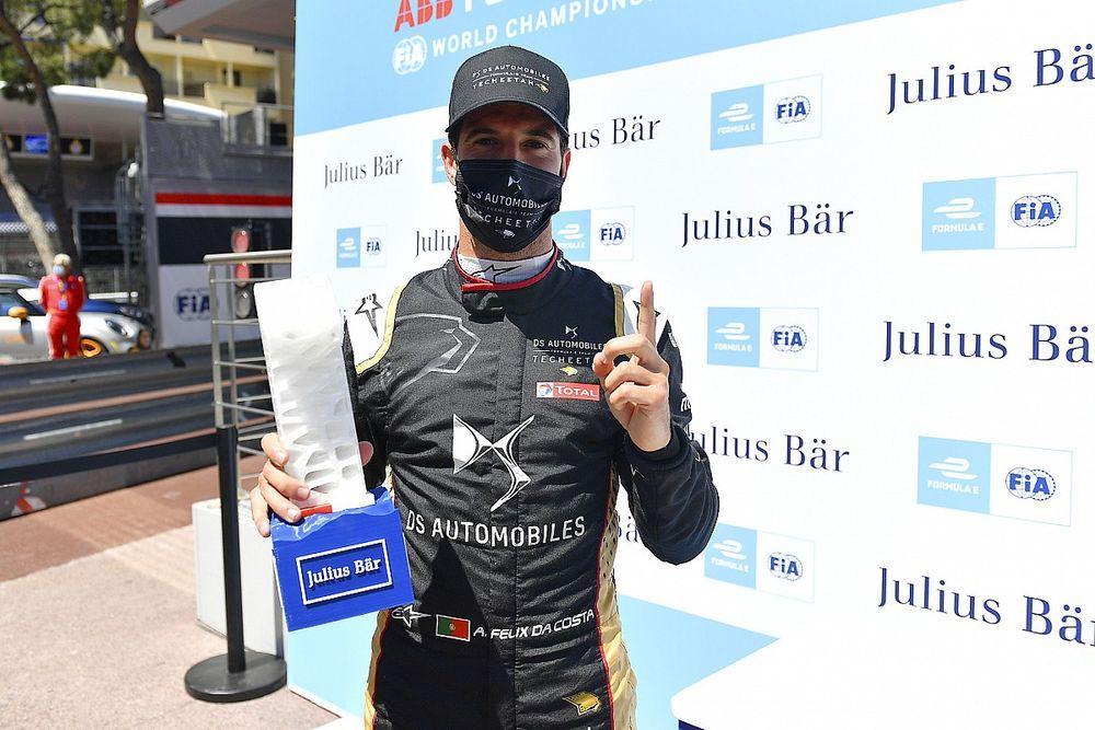 Monaco E-Prix: Da Costa on pole, top four separated by 0.059s