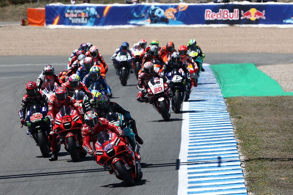 Spanish MotoGP: Miller charges to Jerez victory after Quartararo hits trouble