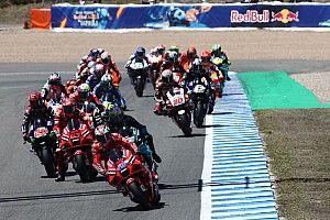 MotoGP, GP di Spagna: animazione grafica della gara