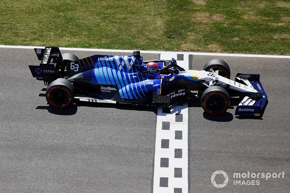 Williams rues lack of Norris tow in Russell's F1 Portuguese GP Q3 bid