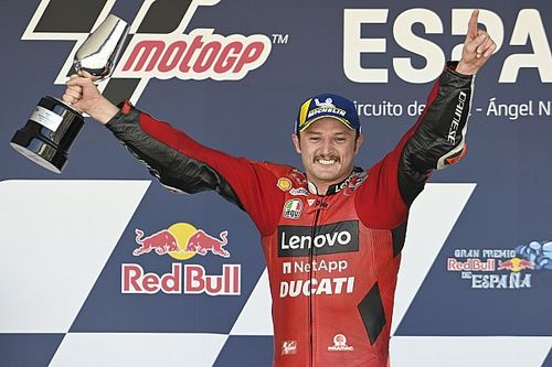 """Emotional Miller """"worked arse off"""" for Spanish MotoGP win"""