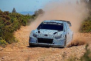 Hyundai revela las primeras imágenes de su Rally1 2022