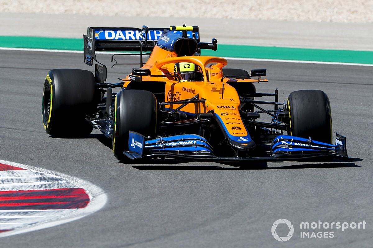 Norris not confident of making Q3 in F1 Portuguese GP qualifying
