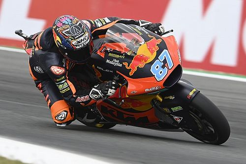 Moto2, Stiria, Libere 2: Gardner al top su pista umida