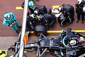 """بوتاس """"تفاجأ"""" بتحميل مرسيدس بعض الخطأ عليه في وقفة صيانة سباق موناكو"""