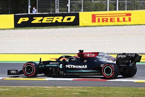 """F1: Hamilton diz que é """"incrível"""" ver evolução de McLaren, Ferrari e Alpine"""