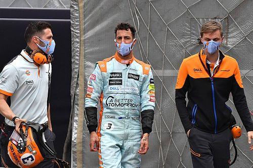 Ricciardo látja, hol gyorsabb nála Norris, de nem tud ellene mit tenni