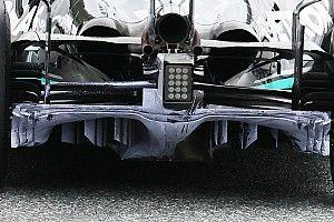 Mercedes gaat nog even door met het verbeteren van de W12