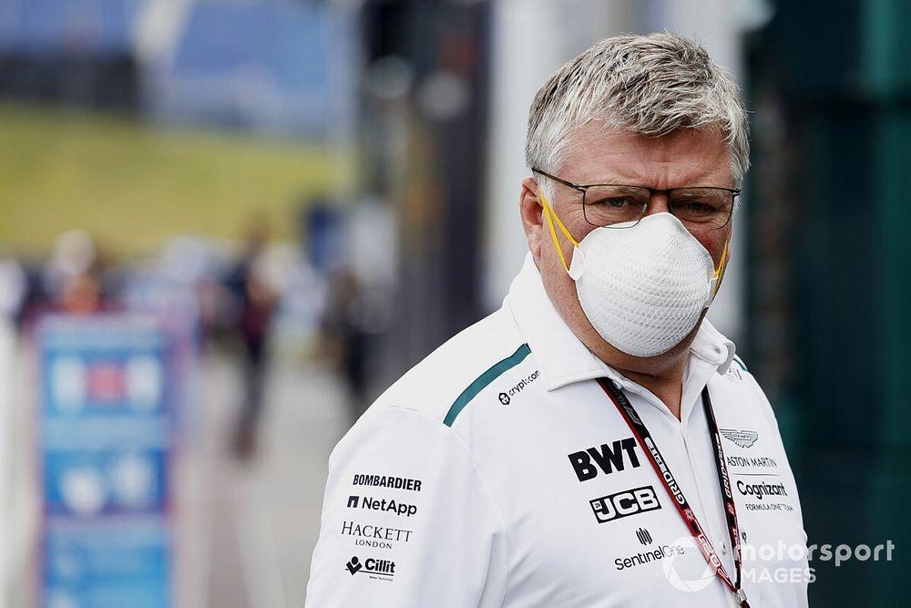 Szafnauer pas menacé par l'arrivée de Whitmarsh chez Aston Martin