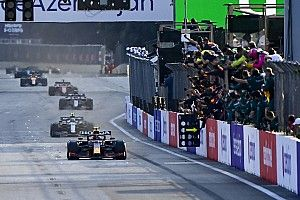 Sergio Pérez confiesa que casi abandona antes de ganar en Bakú