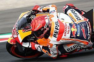 Marquez: Nem gondoltam, hogy motorra tudok ülni ma