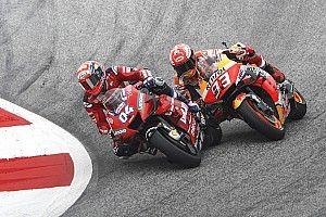 MotoGP, video: Dovi e Marquez raccontano l'ultimo giro in Austria