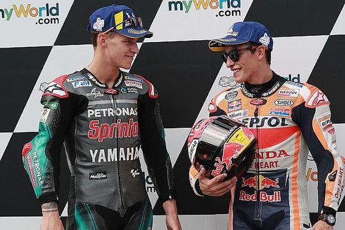 Championnat - Márquez capitalise, Quartararo gagne deux places