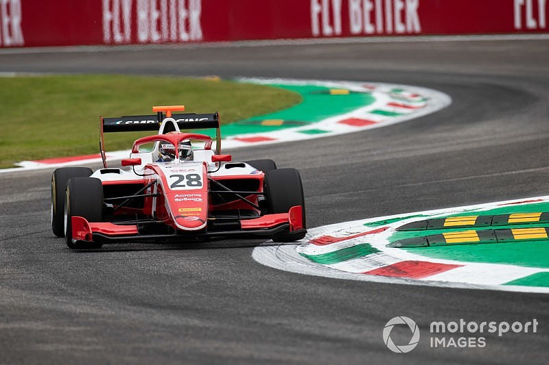 Monza F3: Shwartzman wins, Peroni in horror crash