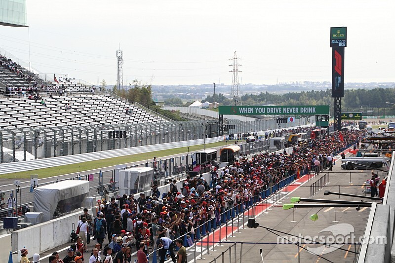 Az FIA módosítása az 130R kanyarnál a Japán Nagydíjon