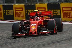 F1ロシアFP1:好調続くフェラーリ、ルクレール首位。フェルスタッペン2番手