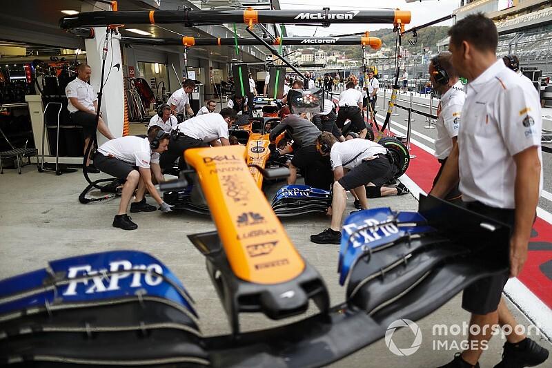 A McLaren szinte teljesen átállt a 2020-as autóra