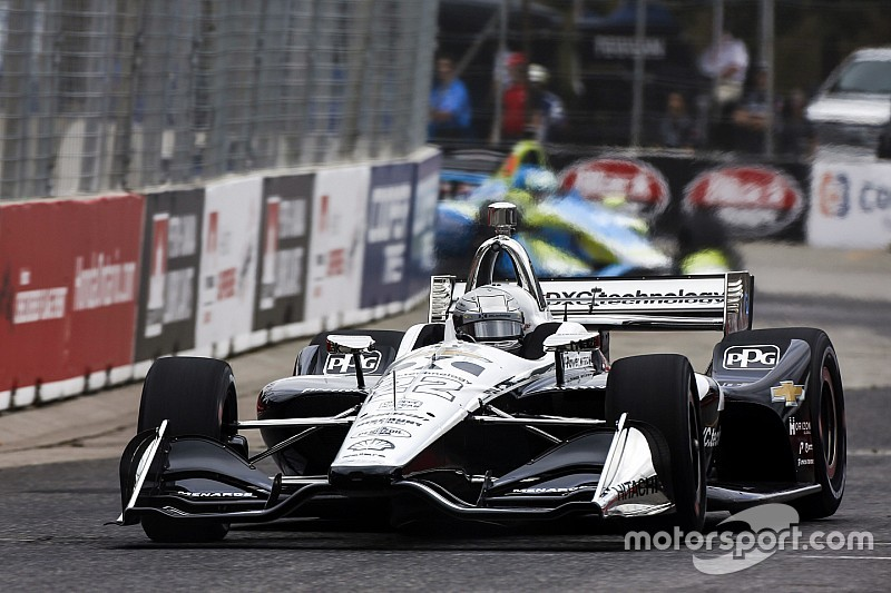 Toronto IndyCar: Pagenaud leads Rosenqvist in FP2