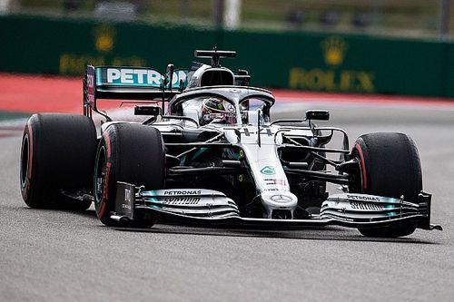 """Hamilton surpris d'être deuxième face au """"jet mode"""" Ferrari"""