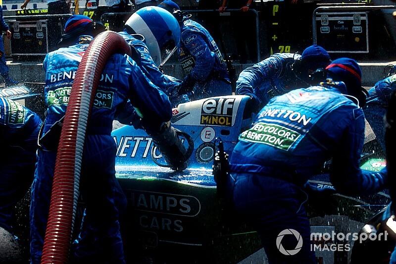 Cómo Williams desenmascaró el control de tracción de Benetton