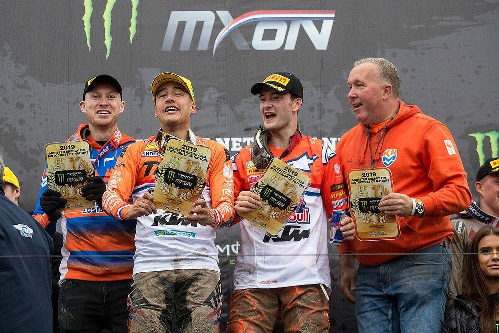 Line-up Team Nederland voor Motocross of Nations bekend