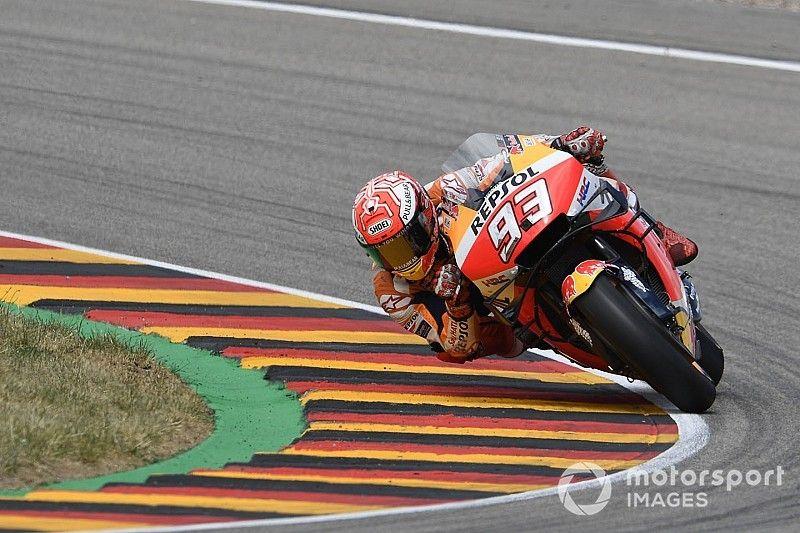 Sachsenring MotoGP: Marquez beats Quartararo to pole