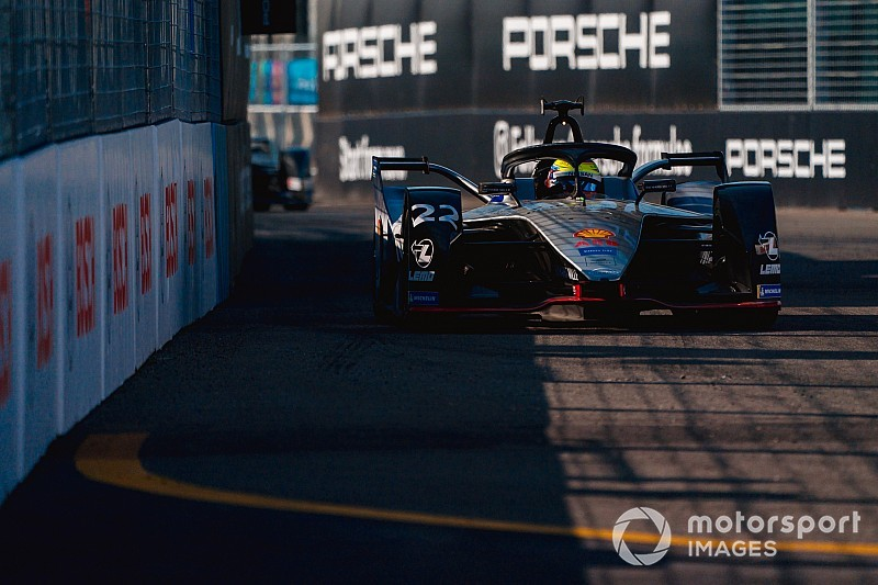 New York E-Prix: Rowland fastest in Saturday practice