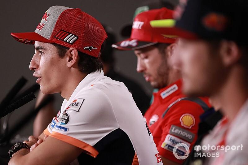 Márquez ne change pas de stratégie malgré sa chance de titre