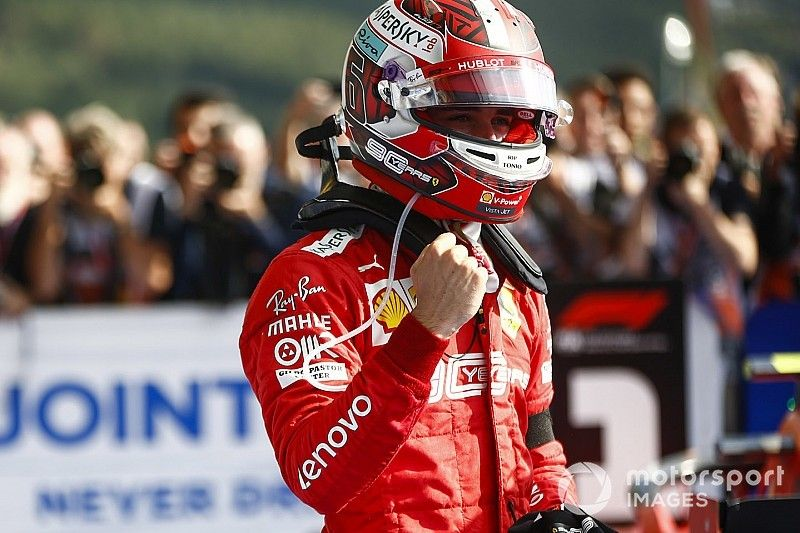 Leclerc logra su primera victoria en F1