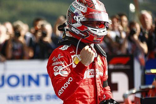 Leclerc nyert Belgiumban, megszületett a Ferrari idei első győzelme!