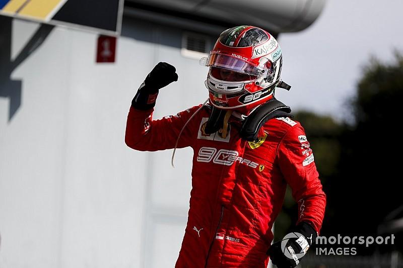 Leclerc, la via del... perdono passa per la vittoria