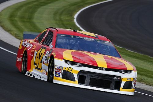 Chip Ganassi Racing teammates top first Cup practice at Indy