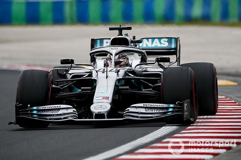 匈牙利大奖赛FP1:汉密尔顿最快,博塔斯遇引擎故障