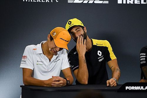 McLaren espera que Norris y Ricciardo comparten secretos en 2021