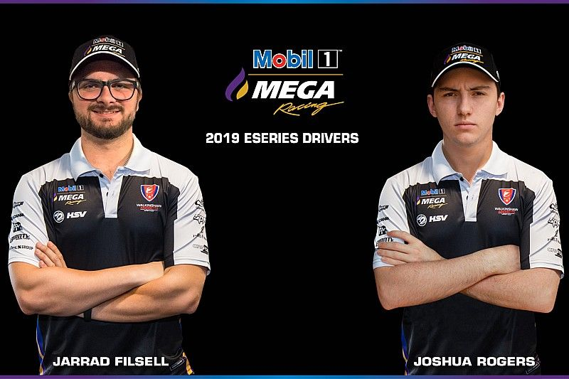 Supercars squads name Eseries signings