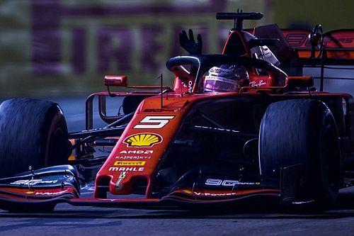 Waarom Vettel na zijn overwinning zo kalm bleef op de boordradio