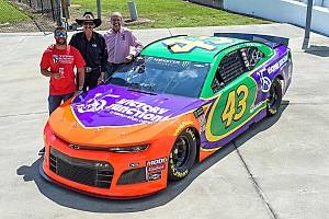 'Bubba' Wallace usará carro com pintura em homenagem a Adam Petty